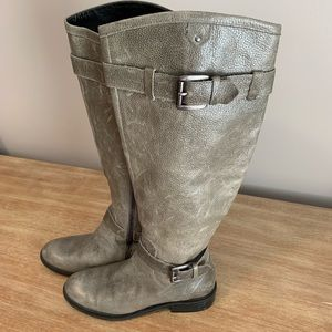 Enzo Angiolini knee high leather riding boots 6.5M